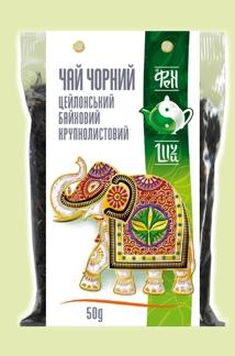 Чай зеленый байховый крупнолистовой